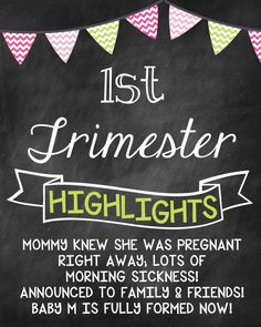 adc56a3207 Items similar to Pregnancy Countdown Trimester Countdown Chalkboard Photo  Prop Sign - Set of 3 on Etsy