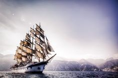 Brian Matiash  Everyone has an image that they feel is one of their strongest or is a...    ... personal favorite. This shot of the Royal Clipper taken off the western coast of Italy fits the bill for me. It is a single exposure HDR image.