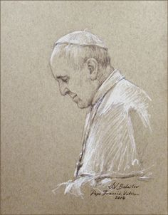 Painter Prepares for First Portrait of Pope Francis - Loyola Press (Igor Babailov)