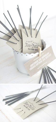 10 DIY para usar tu sello de casamiento