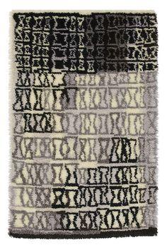Mid Century Rug, Rya Rug, Interior Rugs, Rug Inspiration, Magic Carpet, Rugs On Carpet, Carpets, Floor Rugs, Scandinavian Design