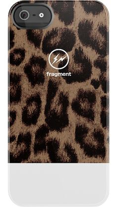 Fragment+Leopard+White+by+Hiroshi+Fujiwara+for+iPhone+5+Black+Bezel+Deflector