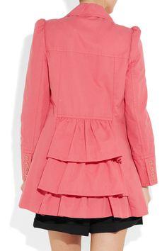 Juicy Couture - Cotton trapeze coat