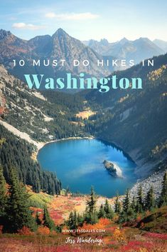 The best hikes in Washington State to do right now!You can find Washington state and more on our website.The best hikes in Washington State to do right now! Hiking Places, Places To Travel, Places To Visit, Hiking Trails, Hiking Usa, Travel Destinations, Hiking Guide, Backpacking Tips, Cascades Du Nord