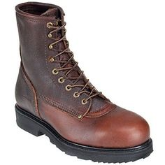 Work boots produced in the United States are best known for their ...