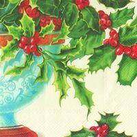 2243 Servilleta decorada Navidad