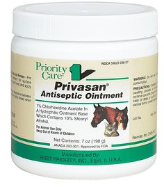 Privasan Antiseptic Ointment. Good for a first aid kit!