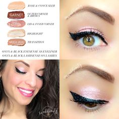 Eyeliner Styles - Eyeliner Tips How To Do Eyeshadow, Eyeshadow For Blue Eyes, Eyeshadow Tips, Blending Eyeshadow, How To Apply Eyeliner, Makeup For Green Eyes, Blue Eye Makeup, Eye Makeup Tips, Smokey Eye Makeup
