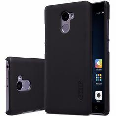 With Free Screen Fim For Xiaomi Redmi 4 Case NILLKIN Super Frosted Shield Matte Hard Back Cover For Xiaomi Redmi 4 pro prime
