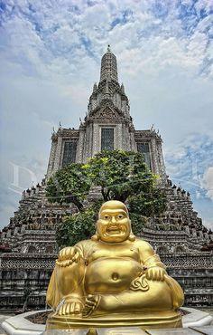 Golden Monk by Dan Chui (on/off!), via Flickr
