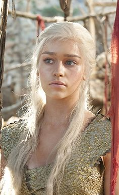 Daenerys Targaryen. One of my favourite characters in the series. Also known as Dany, Daenerys Stormborn, The Unburnt,Mother of Dragons, Mother. She is the Queen of Meereenm Queen of the Andals and the Rhoynar and the First Men, Lord of the Seven Kingdoms, Protector of the Realm, Khaleesi of the Great Grass Sea, Breaker of Shackles, Breaker of Chains. So I suppose you can see why is she awesome.