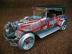 autos hechos con latas de aluminio - Buscar con Google