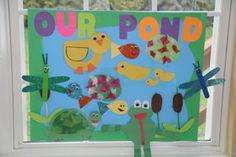 Pond Crafts for Kids Pond Crafts, Duck Crafts, Frog Crafts, Animal Crafts, Crafts To Do, Kindergarten Science Projects, Preschool Crafts, Crafts For Kids, Classroom Crafts