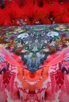 Timorous Beasties Fabric - Thunder Blotch