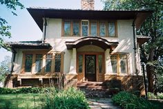Love the brick window boxes on this house! Rehab Addict's DIY Show -Minnehaha House Project (Before Picture - Side View)