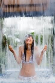 waterfall health cure - Google Search