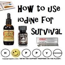 Tips on how to use IODINE FOR SURVIVAL: happypreppers.com....... See even more at the image