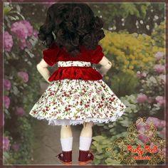 EC0026B Velvet Flower (no wig) - Bleuette Cloth Set [EC0026B] - $60.90,
