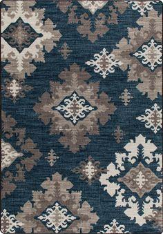 Mix and Mingle Batik Highland Star Rug