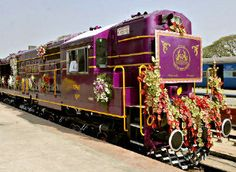 The Golden Chariot – Pride of The South train tour starts on every Monday of the week from Bangalore, India.
