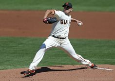 Matt Moore recorded his first win at AT&T Park.