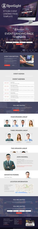 Ezna u2013 Personal Portfolio Template HTML CSS Themes HTML CSS - event agenda