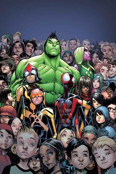 CHAMPIONS #3Lo que comenzó como una idea y un ideal se ha convertido en un movimiento! Pero el problema con los movimientos es que ni siquiera el Hulk puede controlarlos!