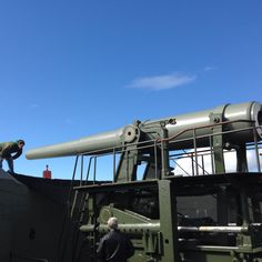 If you feel the need to sit on a canon, fort Casey is the place to be.