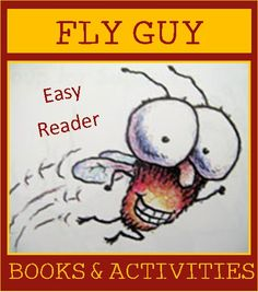 Activities to go with the super popular kids books, The Fly Guy Series