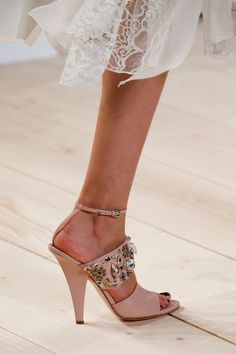 Spring 2015 Runway Statement Shoes//
