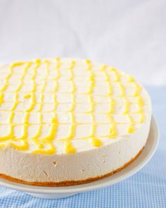 Meyer Lemon Icebox Cheesecake. No baking required. Perfect to make on a warm day when you don't want to use your oven.