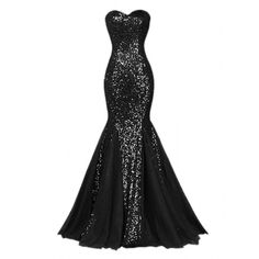 Raniwish Sparkly Evening Prom Ball Gown Sequins Mermaid Long Formal... ($60) ❤ liked on Polyvore featuring dresses, gowns, long evening dresses, white formal gown, formal gowns, long formal gowns and long formal dresses