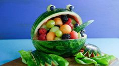 6 Awesomely Creative Ways to Make Edible Watermelon Art