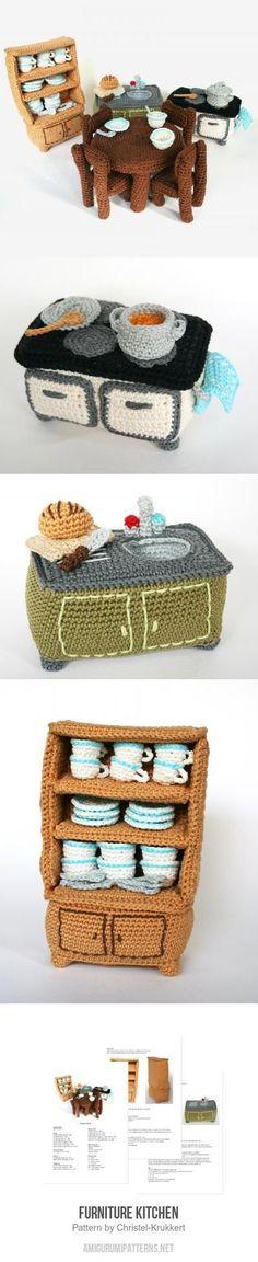 Furniture Kitchen amigurumi pattern