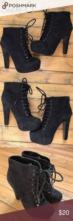 """SPEED LIMIT 98 Great condition. Size 6. Heel 5"""". No races. Fast shipping. speed limit 98 Shoes Heeled Boots"""