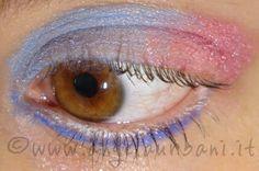 tutorial trucco azzurro baby e rosa confetto by *AngyMakeUp*