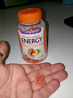 Thanks to Smiley360 I am using a free product Vitafusion everyday energy gummy vitamins. My experience so far with Vitafusion Vitamins has been a rewarding and wonderful. I love the fact that they are not pills. My experience with the pills was nothing nice because many of them are hard to swallow. However, these are anything but easy to chew, are not hard and know tasty. Vitafusion I take my vitamins every day in the morning to start my day happy and energized.