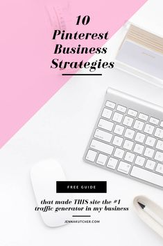 FREE GUIDE - I'm sharing the 10 business strategies that made Pinterest the number one traffic generator to my site! Click here to download your guide and learn the steps to take to start using Pinterest strategically for your business. So let's get pinning, friend (and I'm not just talking about what's for dinner). I'm here to tell you that strategically pinning for your business will not only drive traffic, but profits too. Social Media Marketing Business, Online Marketing, Business Tips, Online Business, Creative Business, Small Business Organization, Thing 1, Pinterest For Business, Pinterest Marketing