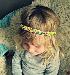 Braided Headband - Boho Headband with Crystals. $22.00, via Etsy.