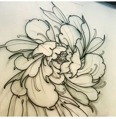 top view of flower, swirly style is cool Japanese Flower Tattoo, Japanese Tattoo Designs, Japanese Flowers, Small Tattoo Designs, Flower Tattoo Designs, Back Hip Tattoos, Line Art Tattoos, Top Tattoos, Sexy Tattoos