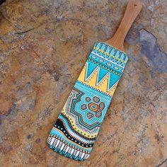 "129 Beğenme, 9 Yorum - Instagram'da BARBA LeatherWorks (@barbaleatherworks): ""Have a great Friday! 😎 #handpainted #wooden #woodencraft #doodle #handpaintedwoodenspoon #holiday…"""