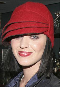 cute red hat
