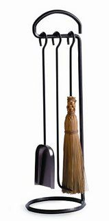 Fireplace Tools: One-Piece Steel Fireplace Tool Stand and Set by Enclume #fireplacemall