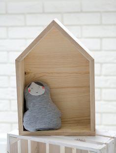 Półka domek pełny Milli Home