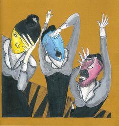 """Ilustracion sobre """"El cascanueces"""" de E.T.A. Hoffmann (1/2). 2013"""