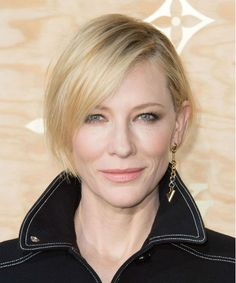 Splendid Short Layered Hairstyles to Wear Right Now – Cate Blanchett