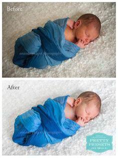 Editing Newborns in Lightroom - Easy tutorial!