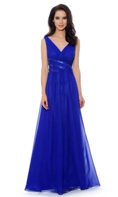 Chiffon A-line Straps Long Formal Dresses FSAU1409P801255 - formalsydney.com