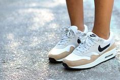 I don't think I've ever owned a pair of mostly-white tennis shoes but these I love.