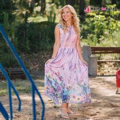 Set de rochii lungi de vara pentru mama si fiica Tie Dye Skirt, Floral, Skirts, Fashion, Moda, Fashion Styles, Flowers, Skirt